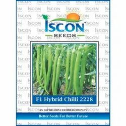 Iscon F1 Hybrid Chilli 2228 Seed, Packaging Type: Packet, Packaging Size: 500g