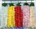 Artificialflower.in Polyester D2156a Artificial Floral Hanging Bunch, For Decoration, Packaging Size: 600 Pieces
