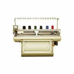 Double System Flat Knitting Machine