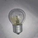 Warm White Glass Khadiza Round Bulb, 200v-250v