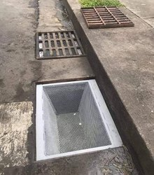 Expanded Drain Strainer