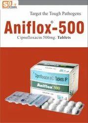 Ciprofloxacin 500 Mg Tablets