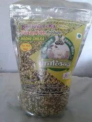 Moong Ki Dal Chilka  (Gavyanjaly Jaivik Foods ), Packaging Type: Plastic Bag