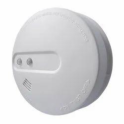 White Atigo Wireless Hybrid Smoke Sensor for Office Buildings