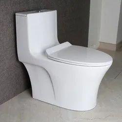 Gayatri Ceramic Closed Front Western Toilet Seat, For Bathroom Fitting, Size/Dimension: 520x450x390 Mm