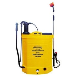 BATTERY OPERATED DUAL SPRAYER