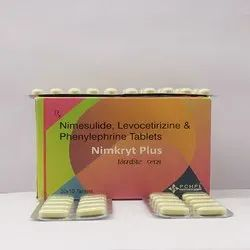 Nimesulide, Levocetirizine & Phenylephrine Tablets