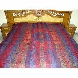 Multi Color Viscose Bedspreads Fabric