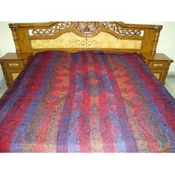 Grisha 108 Multi Color Viscose Bedspreads Fabric, GSM: 100-150 GSM