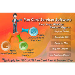 PAN Card Service Software