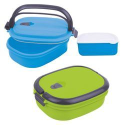 Relish (Plastic Inner) Insulated Lunch Box