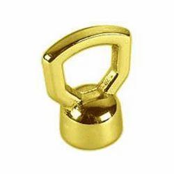 Wing Nut Polished Brass, Size: 3/4