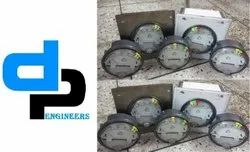 Aerosense Model ASG-30 Differential Pressure Gauges Ranges 0-30 Inch Wc