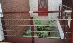 Balcony Wooden Railing