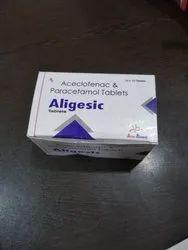 Aceclofenac and Paracetamol Tablets