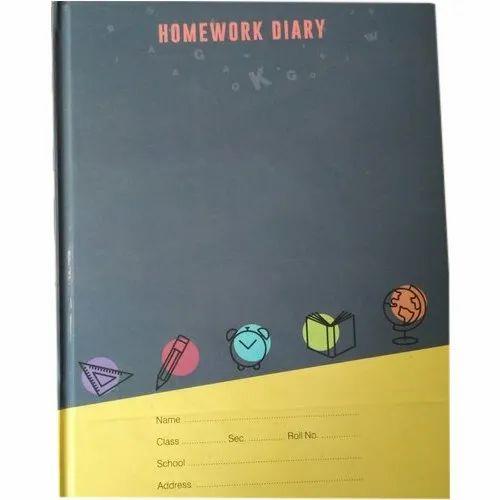 Homework School Diary