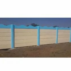 6 Feet Concrete Compound Wall