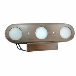 Cool White Aluminium Wall Mounted LED Light, For Home, 18 W