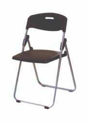 Mobel Furniture Black Folding Chairs
