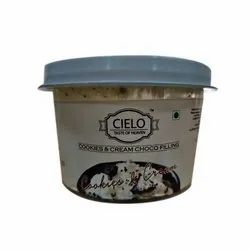 Cielo Cookies And Cream Choco Filling, For Bakery, Packaging Type: Plastic Bucket