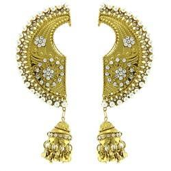 American Diamond Gold Plated Earcuff