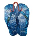 Rubber Daily Wear Mens Lotus Slipper, Design/pattern: Printed