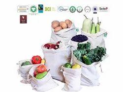Eco Cotton Produce Bag