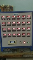 Temperature Indication Control Panel