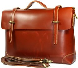 Leather Business Laptop Bag