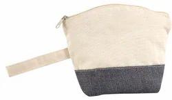 Plain Custom Canvas Pouch Bag, Bag Size: 18 X 23 X 5 Cm, Shape: Rectangular