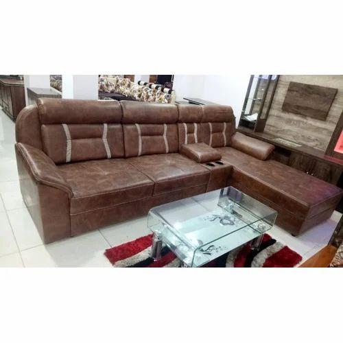 Fancy Leather Sofa Set