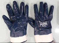 Nitrile Full Deep Hand Gloves Economy