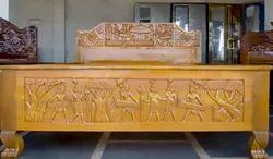 Bastar Dancing Art Bed