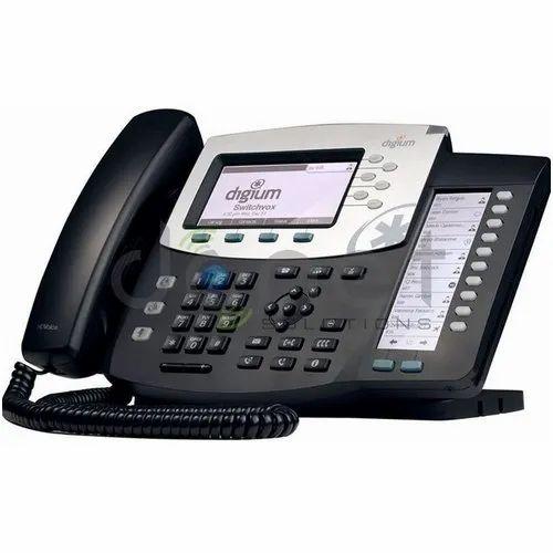 Black Digium D70 IP Phone, DCNET Solutions India Private