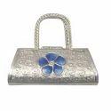 250gm Pure Silver Ladies Clutch Bag
