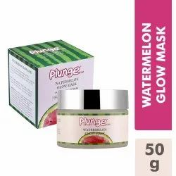 O3 Plunge Watermelon Pasteque Glow Mask for Skin Brightening & Hydration, 50g