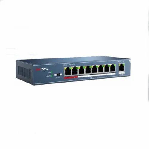 Hikvision DS-3E0109P-E 8-Port 100 Mbps Unmanaged PoE Switch