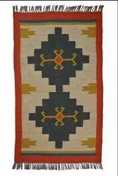 Asorted Hand Made Wool Jute Dhuries