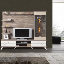 Wooden Free Standing Tv Unit