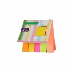 Pink , Orange Paper Sticky Note