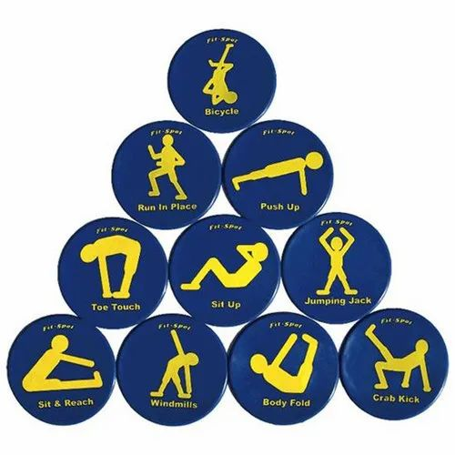 Fitness Spot Markers