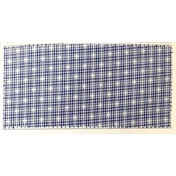 Solitaire Cotton Check Fabric