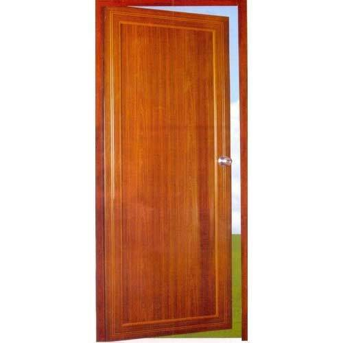 Plain Aluminium  Bathroom Door