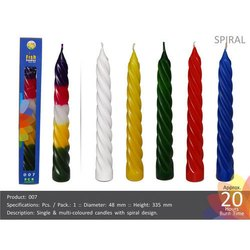 Spiral Candle 007