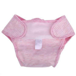 Dry Safe Pink Cotton Baby Diapers