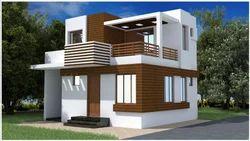 Duplex House Elevation Design