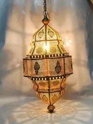 Hanging Shadow Moroccan Lantern