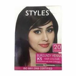Burgundy Henna Hair Color At Best Price In India