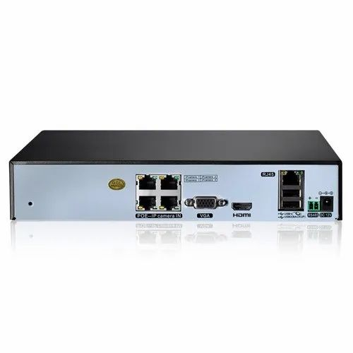 SANNCE 4CH 1080P Network POE NVR, Number Of Channel: 4