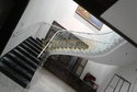 Frameless Aluminum Glass Railing